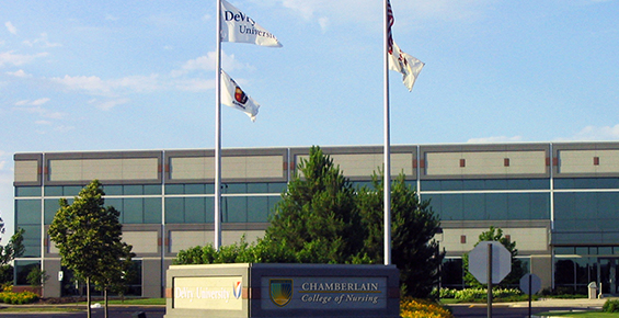 Nursing school in Tinley Park, IL, Chamberlain College of Nursing Campus