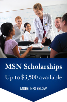 MSN Scholarships Available