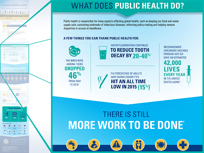 Master of Public Health Infographic