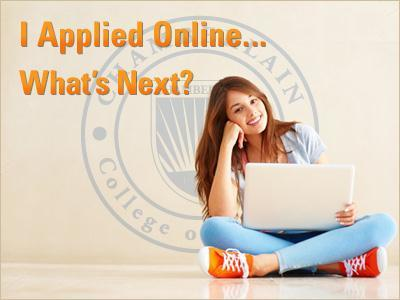 Applied Online to Chamberlain College
