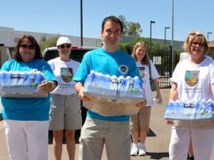 Hydration for homeless