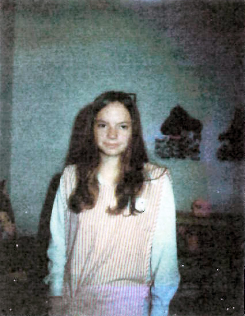 Karen Cox at 14 years old