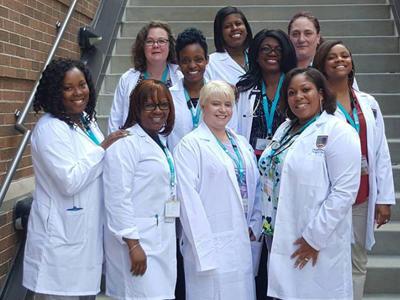 Group of Chamberlain University Nursing Students