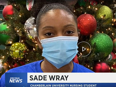 Sade Wray Operation Christmas Child