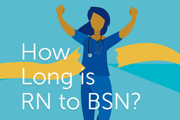 how long is rn to bsn?