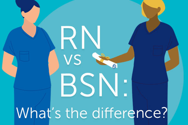 rn to bsn: what's the difference?