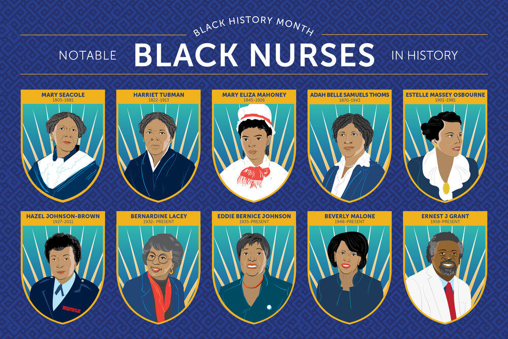 notable black nurses in history