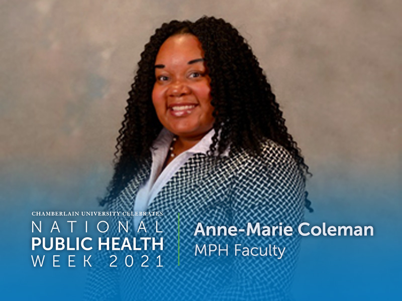 MPH Faculty Member Anne-Marie Coleman