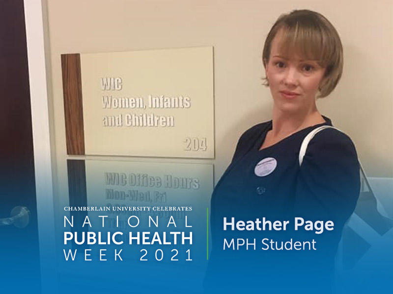 MPH Student Heather Page
